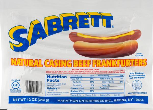 Gluten In Hot Dogs